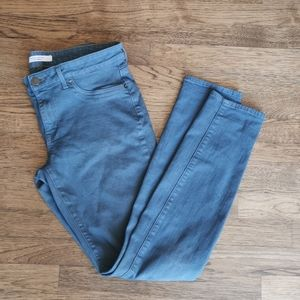 Rich & Skinny Stretch Faded Green Jeans 31